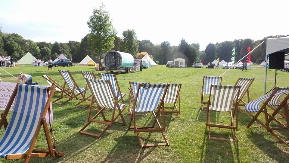 All year round deck chair hire