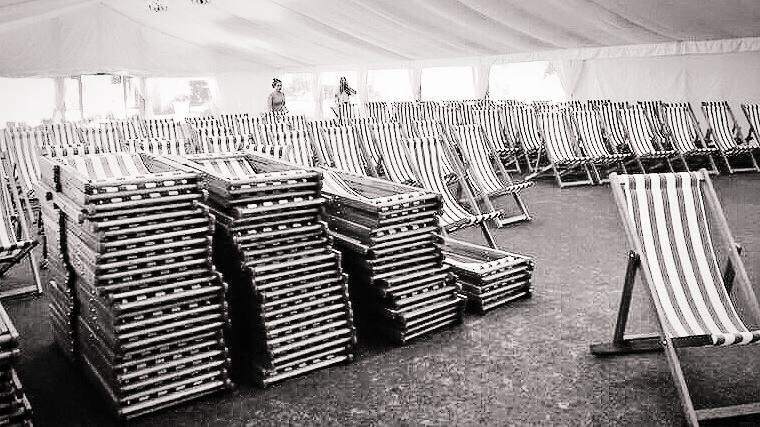 Vintage Deck Chair Party